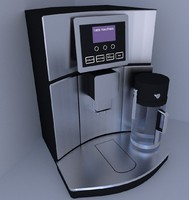 coffee machine 3d 3ds