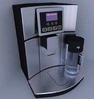 coffee machine 3d 3ds