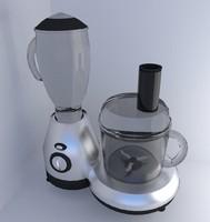 3d 3ds food processor
