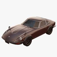 3d model nissan fairlady 240zg