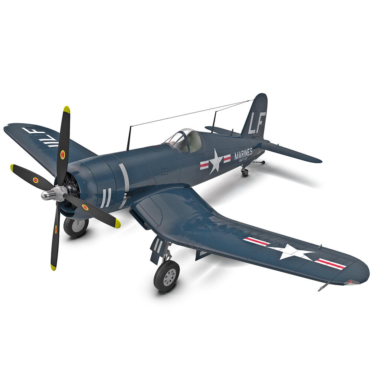 American Fighter Aircraft Chance Vought F4U Corsair_9.jpg