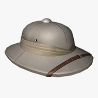 retro pith helmet 3ds