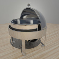 3d model buffet heater