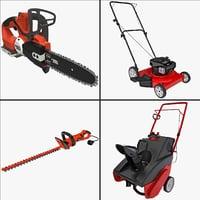 3d model yard tool 2