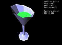 free sci-fi futuristic bar 3d model