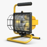 3d model of work light 1