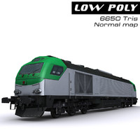 locomotive ready games 3d model