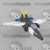 lego wings 3d model