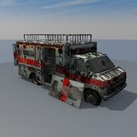 abandoned car max