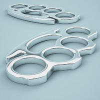 3d brass knuckles