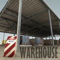 3d warehouse containers tanks model
