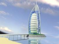 burj al arab 3ds