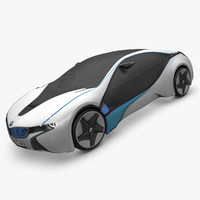 3d model bmw efficient dynamic