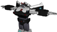 3d model of prowl g1