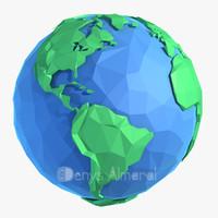 earth concept 3d max