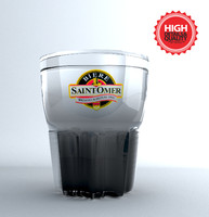drink glass 3d model