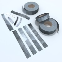 duct tape masking 3d model