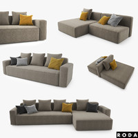 Roda Dandy Sofa Set