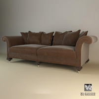 3d ralph lauren hiress sofa