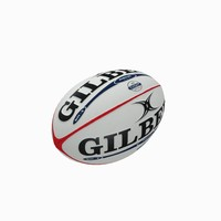 3d rugby ball model