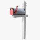 Letter Box 3D models