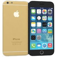 3d apple iphone 6 black