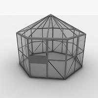 greenhouse c 3d model