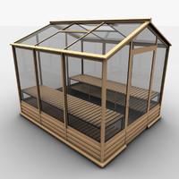 3d greenhouse e model