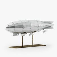 3d model of zeppelin restoration hardware