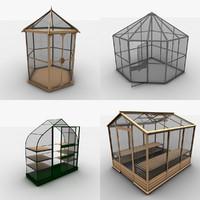 greenhouse 3d c4d