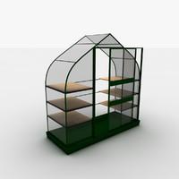 3d obj greenhouse