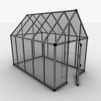 3d model greenhouse j