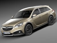 2014 tourer opel 3d 3ds