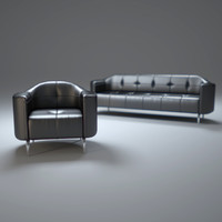 3d charlie sofa