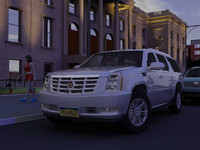 cadillac escalade esv gmt900 3d model