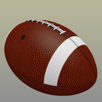 3ds max football ball