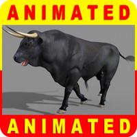 3d spanish bull