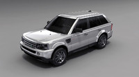 3dsmax land rover