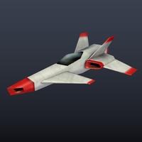 spaceship space 3d model