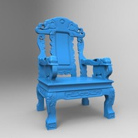 3d model print combination furniture