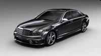 free car vehicle luxury 3d model