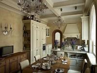 kitchen classic 3d model