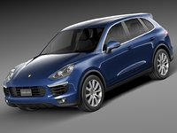 2015 porsche cayenne 3ds