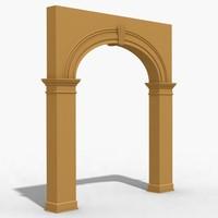 arch 1 3d model