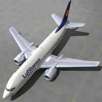 boeing 737 500 - 3d model