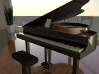 free max mode baby grand piano keys