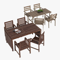 3d model ikea tableset