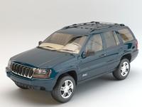 jeep cherokee studio 3d max