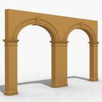 arch 2 3d 3ds