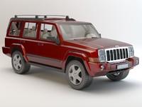 jeep studio 3d max